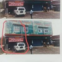 Bank Utomo (1): Tanah berikut bangunan sesuai SHM No. 2450 Luas tanah : 83 M2 di Jalan Kepondang , Gedong Air Bandar Lampung