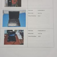 1 (satu) paket BMN peralatan mesin kondisi rusak berat sebanyak 26 unit B M S