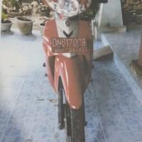 1 (satu) Yamaha/3SO Vega R 110 CC Tahun 2006, Nopol DN 6170 CB, Rusak Berat UPP LWK