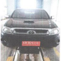 Setda Sanggau 18: 1 (Satu) unit kendaraan roda 4 (Empat) Merk Toyota Hilux, Nopol KB 9757 D