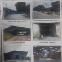 BNI RRR Plg: Tiga bidang tanah dalam satu hamparan berikut bangunan eks Pabrik di Jalan Raya KM.35 Desa Bumi Agung , Tegineneng Pesawaran