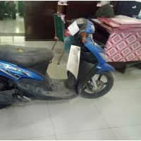 Rampasan Kejarisiantar5: 5. 1 (satu) unit  sepeda Motor Metic Yamaha Mio warna Biru BK-5417-TAG beserta STNKB dan kunci kontak