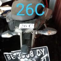 Rampasan Kejari Kab. Bekasi: LOT26C. 1 (satu) unit sepeda motor merk Kawasaki Pulsar, BE 3508 CY berikut BPKB