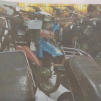 BPPKAD Banjarnegara (Paket 16): 5 unit sepeda motor dijual satu paket