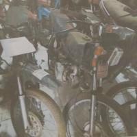 BPPKAD Banjarnegara (Paket 19): 5 unit sepeda motor dijual satu paket