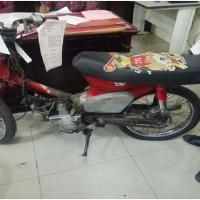 Rampasan Kejarisiantar8: 1 (satu) unit  sepeda motor Honda tanpa  plat