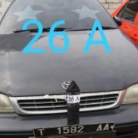 Rampasan Kejari Kab. Bekasi: LOT26A. 1 (satu) unit mobil Toyota Corona, warna hitam, T 1582 AA