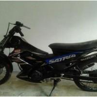 Rampasan Kejarisiantar7: 7. 1 (satu) unit  sepeda motor Suzuki Satria FU warna hitam tanpa plat