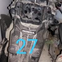 Rampasan Kejari Kab. Bekasi: LOT27. 1 (satu) unit kendaraan sepeda motor Honda Beat, B 4639 FZR, warna putih biru