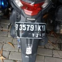 Rampasan Kejari Kab. Bekasi: LOT25. 1 (satu) unit sepeda motor Honda Beat, B 3579 KYB, warna putih merah