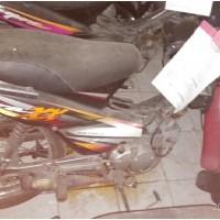 Rampasan Kejarisiantar15: 1 (satu) unit  Sepeda motor Honda Supra tanpa Plat