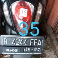 Rampasan Kejari Kab. Bekasi: LOT35. 1 (satu) unit sepeda motor Scoopy, B 4244 FEA