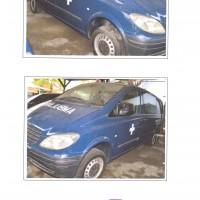 Lot 4. 1 unit ambulans Mercedes Benz tahun 2005 eks Lanud Ngurah Rai TNI AU