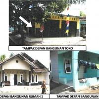 Bank Mandiri (1) : Sebidang tanah berikut bangunan terletak di Desa Kondangjajar, Kec. Cijulang, Kab. Pangandaran