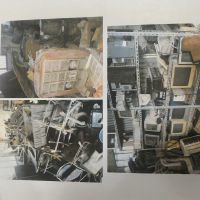 1 (satu) paket barang inventaris kantor (kondisi rusak berat)