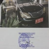 Pengadilan Tinggi Tj. Karang: 1 mobil sedan merk/type Toyota/Camry 2400, Tahun 2005, Nomor Polisi: BE 1057 BZ,, dalam kondisi rusak berat