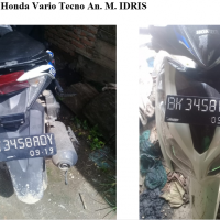 Kejari 21 - 1 (satu) Unit sepeda motor Honda Vario Techno warna putih dengan nopol BK 3458 ADY