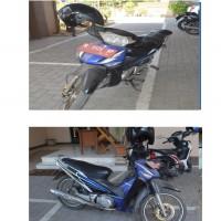 Sepeda Motor Merk Honda, Type  NF 125 SD, Tahun 2005, Nomor Polisi M 5125 HP, Isi Silinder 125 cc,  atas nama : KS. Karantina Hewan II KML