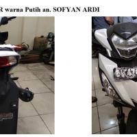 Kejari Gayo 22 - 1 (satu) Unit sepeda motor Honda Supra STR warna putih dengan nopol BL 4545 HJ.