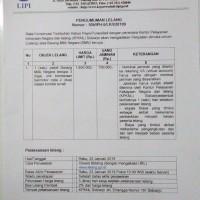 BKT KR Purwodadi 1 Paket BMN berupa 3 unit sepeda motor scrab