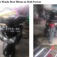Kejari Gayo 19 - 1 (satu) Unit sepeda motor Honda Beat warna hitam dengan nopol BL 5216 BC