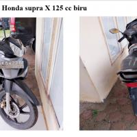 Kejari Gayo 18 - 1 (satu) Unit sepeda motor Honda Supra X 125cc warna biru dengan nopol BK 5422 IU