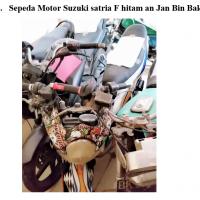 Kejari Gayo 15 - 1 (satu) Unit sepeda motor Suzuki Satria F warna putih tanpa nopol