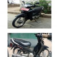 Sepeda Motor  Merk Honda, Type NF 125, Tahun 2005, Nomor Polisi M 2503 HP, Isi Silinder 125 cc,  atas nama : S. Karantina Hewan II KML