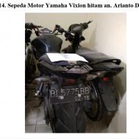 Kejari Gayo 14 - 1 (satu) Unit sepeda motor Yamaha Vixion warna hitam dengan nopol BL 5775 BB.