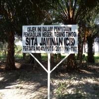 PNTT: Dijual Tanah Seluas 3.132 M2, yang terletak di Desa Pematang Terang, Kecamatan Tanjung Beringin, Kab. Serdang Bedagai,
