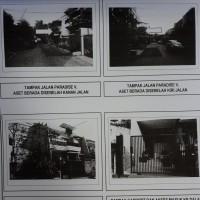 Maybank - sebidang tanah seluas 153 m2 berikut bangunan diatasnya yang terletak di Jalan Paradise V Blok F8 No. 6 Jakarta Utara