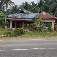 BRI Stabat, Tanah seluas 1.049 M2 berikut bangunan SHM No.128  di Desa/Kelurahan Bukit Selamat, Kec Besitang, Kab Langkat