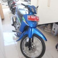 25-3-2019_ATR/BPN Karanganyar_4_1 (satu) unit sepeda motor Suzuki Shogun Tahun 2003 Nomor Polisi AD 9699 AF, BPKB ada, STNK ada