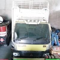 [KJRPyk] 1. 1 (satu) mobil truck merk Mitshubishi Canter Nopol BA8259KU, bermuatan kayu kelompok meranti 6,3560 m3 berikut kunci kontaknya
