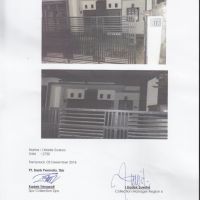 Sebidang tanah dan bangunan, SHM 02370, luas 80 m2 di Ds. Cepaka, Kec. Kediri, Kab. Tabanan, Prov. Bali *Bank Permata*