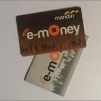 Lot 57. 1 (satu) buah Kartu e-Money Mandiri saldo Rp100.000,00