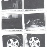 PT. Bank Mandiri: 1 (satu) Unit kendaraan VW Caravelle tahun 2005 dengan nopol B 911 ZW