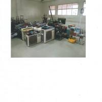 SMK-SMTI.Pontianak: 1 (satu) paket peralatan dan mesin milik SMK-SMTI Pontianak dalam keadaan rusak berat