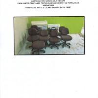 KP2KP.NangaPinoh: 1 (satu) paket barang inventaris kantor dalam keadaan rusak berat