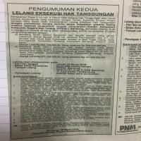 KSP Sahabat Mitra Sejati: TB SHM 50 luas 217 m2,  di Blok Tegal Caang, Ds Parungserab, Kec. Soreang, Kab. Bandung