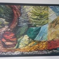 [SENI2] 5.1 (unit) Karya Seni Lukis; Judul: Tambo Alam Minang, Karya : Armen, Ukuran  : 80 x 120, Media : Acrilic di atas Canvas