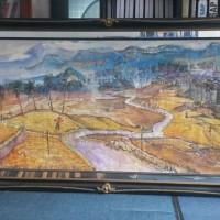 [SENI2] 4.1 (unit) Karya Seni Lukis; Judul: Pasca Panen, Karya : Hamzah, Ukuran  : 200 x 120, Media : Acrilic di atas Canvas