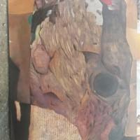 [SENI2] 1.1 (unit) Karya Seni Lukis; Judul: Di dalam Jahitan, Karya: Aidil Albert Firdaus, Ukuran : 140 x 80, Media: Acrilic di atas Canvas