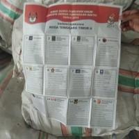 1. 1 (satu) Paket Surat Suara Eks Pemilu (KPU Sumba Timur)
