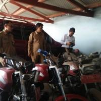 Kemenag Kota Probolinggo - 1 (satu) paket Barang Milik Negara terdiri dari 6 (enam) unit sepeda motor.