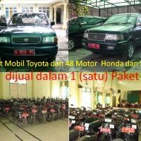 [Kemenag Brebes]Dijual dalam 1 (satu) Paket berupa 2 unit Mobil Toyota Kijang dan 48 Unit Sepeda Motor Honda dan Suzuki
