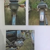 1 (satu) unit sepeda motor Yamaha L2S, warna hitam,tahun 1992,nomor rangka : L2S-151984.K, nomor mesin : IEG.018386, nomor polisi : DA 791 E