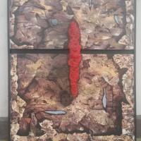 [SENI] 2. 1 (unit) Karya Seni Lukis; Judul: Esa, Karya : Ade Herman, Ukuran  : 110 x 80, Media : Acrilic di atas Canvas