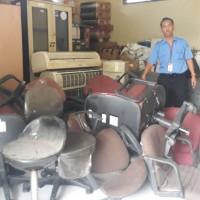 Bamon: satu paket inventaris kantor sebanyak 90 Unit dengan kondisi rusak berat