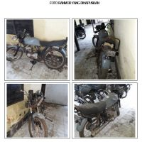 Polda Kalbar 12.1(satu) unit kendaraan dinas roda 2(dua) Merk Suzuki TRS 118 No.Pol 1407-33 a.n polres singkawang